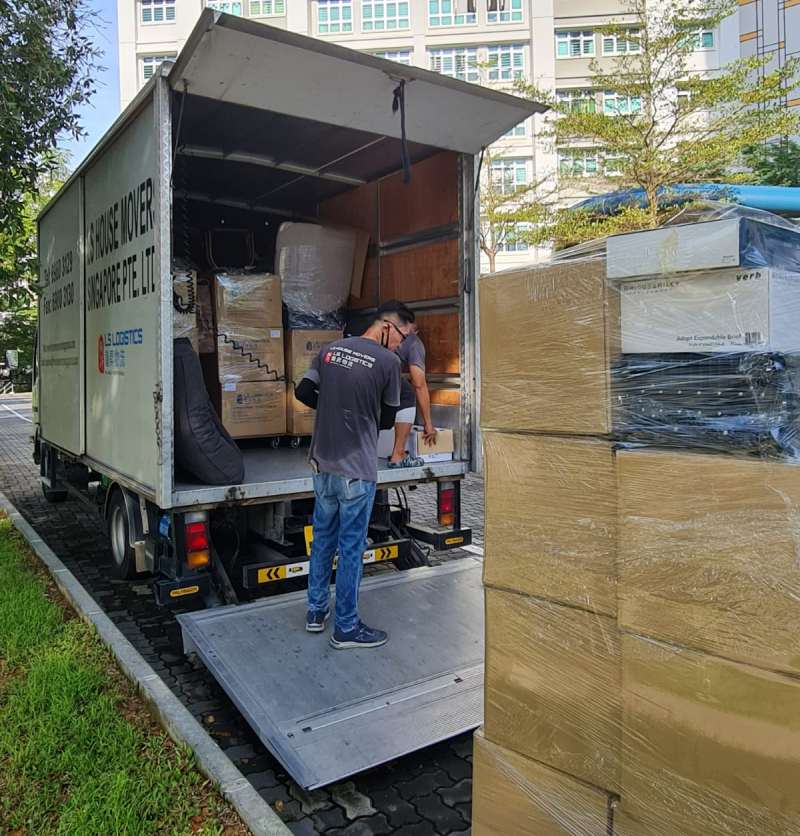 house movers singapore - commercial