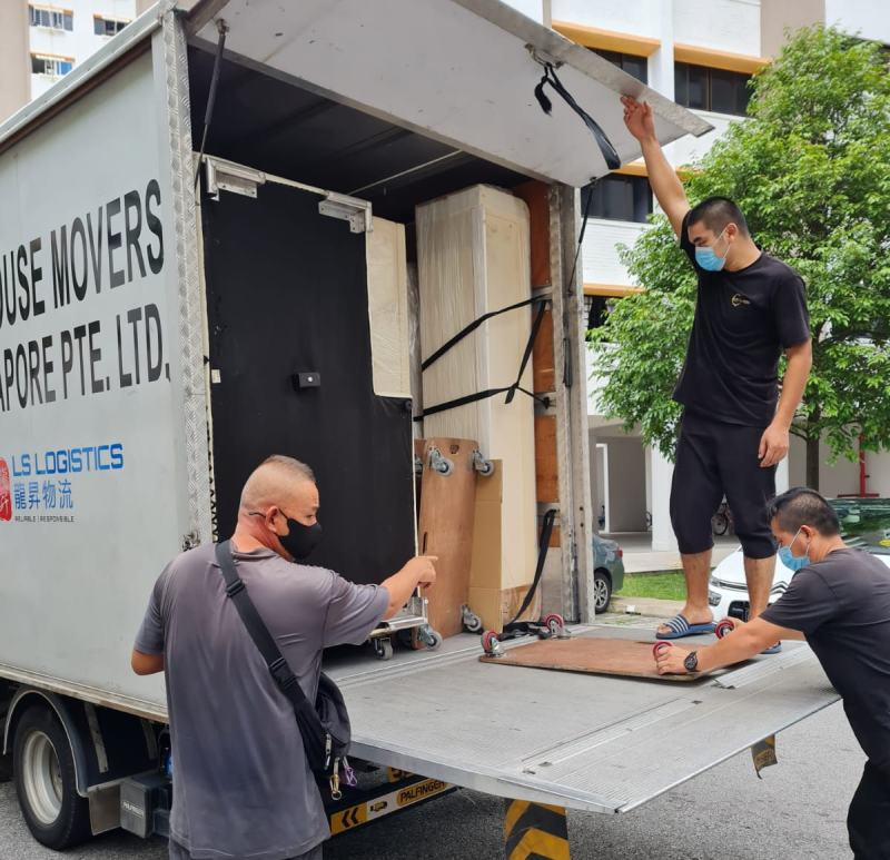 house movers singapore - furniture